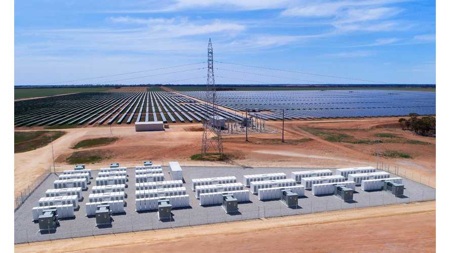 50 MWh Tesla Battery ESS Launched At Solar Farm In Australia