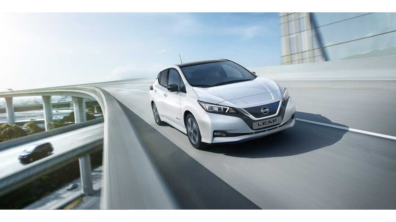 Nissan LEAF Sales In Europe Increased In October 2018