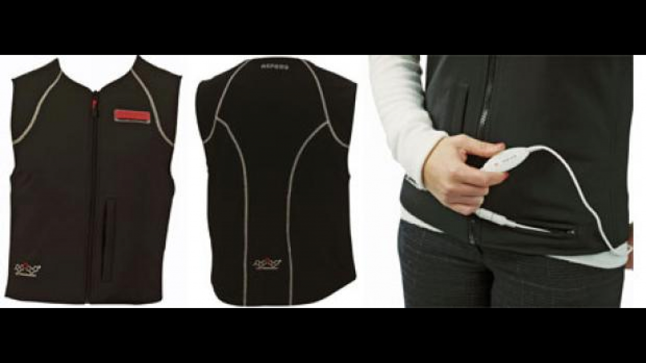 Oxford Heated Gilet by Bergamaschi