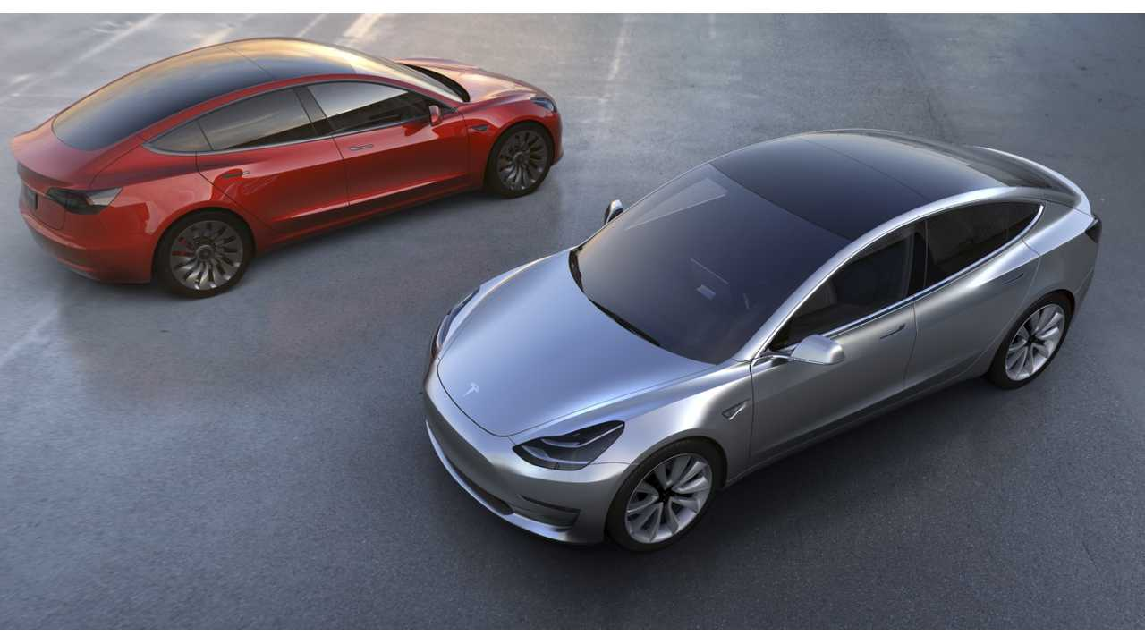 Tesla Model 3 - Arriving In Late 2017