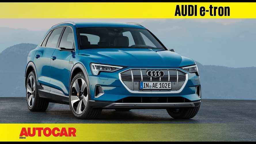 Autocar India Gets Exclusive First Look At Audi e-tron