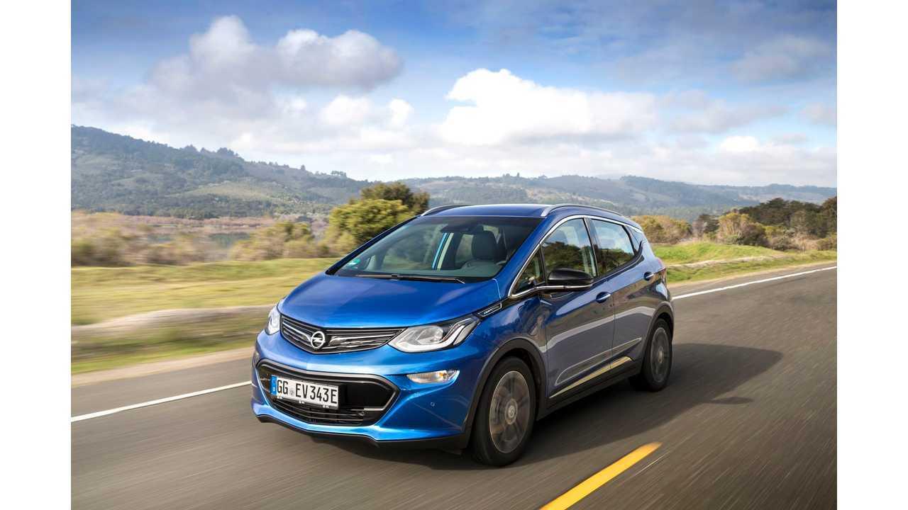 Opel Ampera-e Gets 520 km/323 Mile Range Rating In Europe