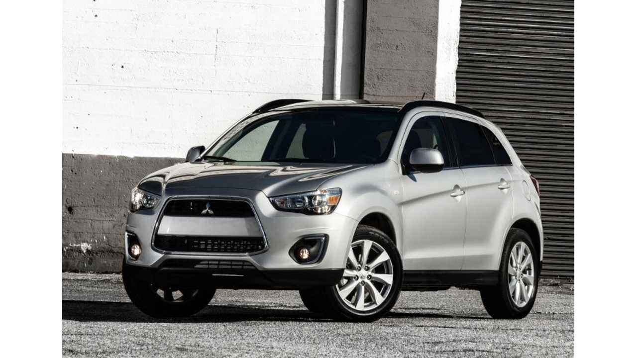 Confirmed: Mitsubishi Outlander Sport PHEV To Launch By Early 2017