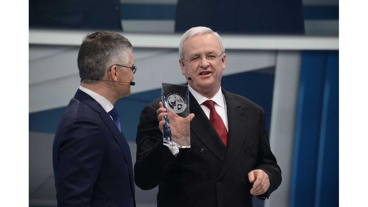 North American Car of the Year Award for the Volkswagen Golf