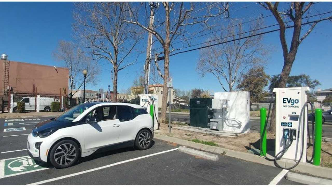 EVgo Introduces New Grid-Tied Chargers With Second-Life BMW i3 Batteries