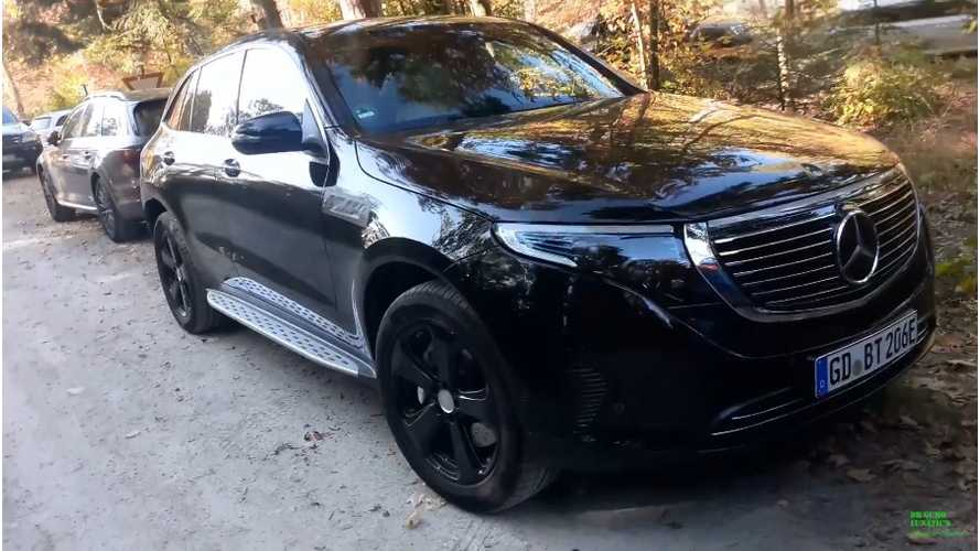 Mercedes-Benz EQC 400 Spotted In The Wild: Video