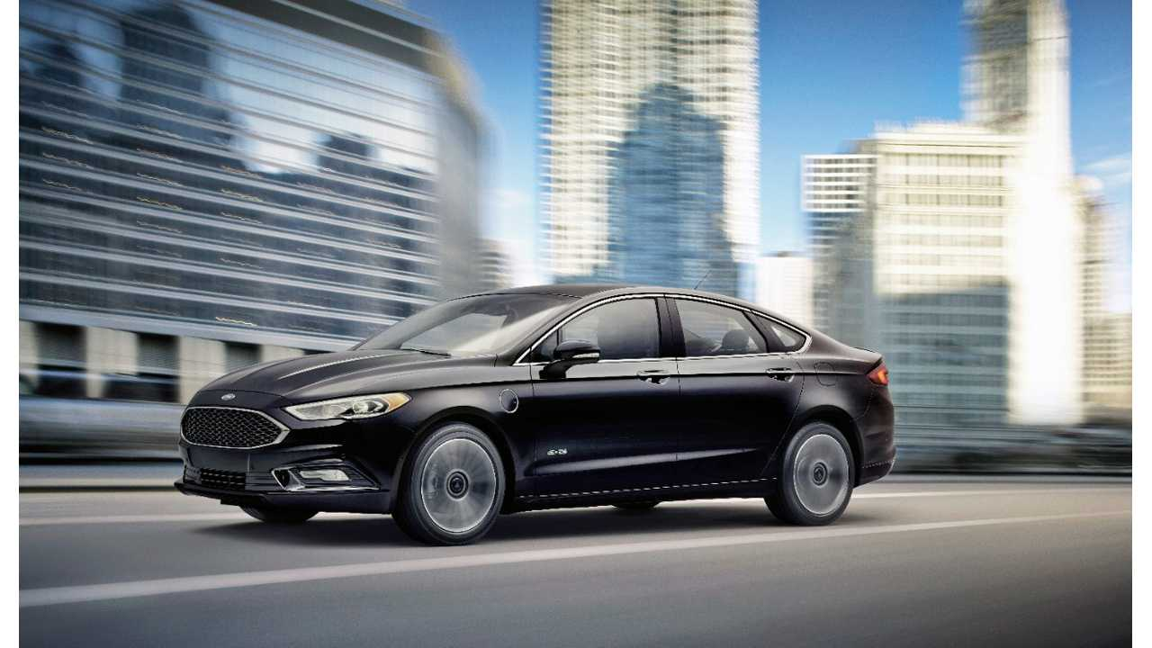 New look, more miles for the 2017 Ford Fusion Energi