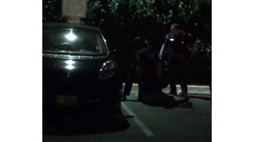 Attempt To Charge Nissan LEAF After Hours Ends With Owner Pepper Sprayed And Tackled By Police (w/video)