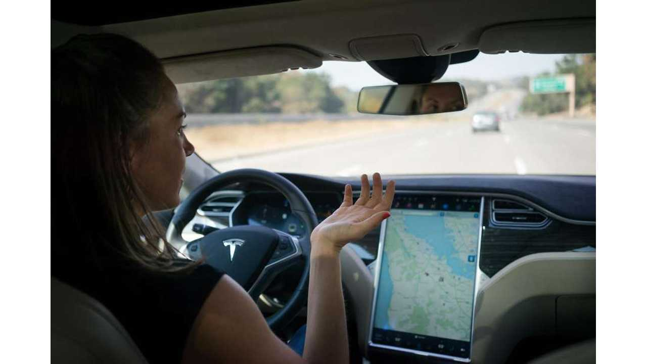 Self-Driving Teslas (Other Cars) To Put An End To Traffic?