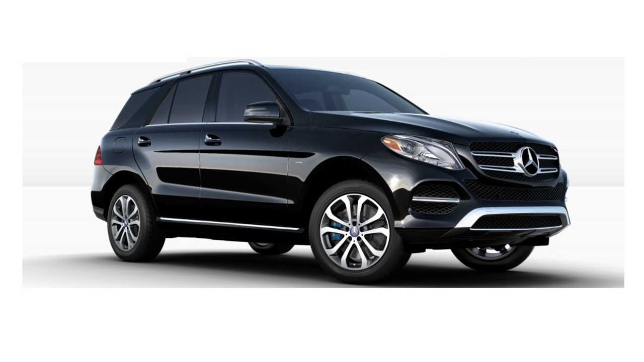 Latest Plug-In To Arrive In The US - the 2017 Mercedes GLE 550e (which to no one's surprise, also comes in black)