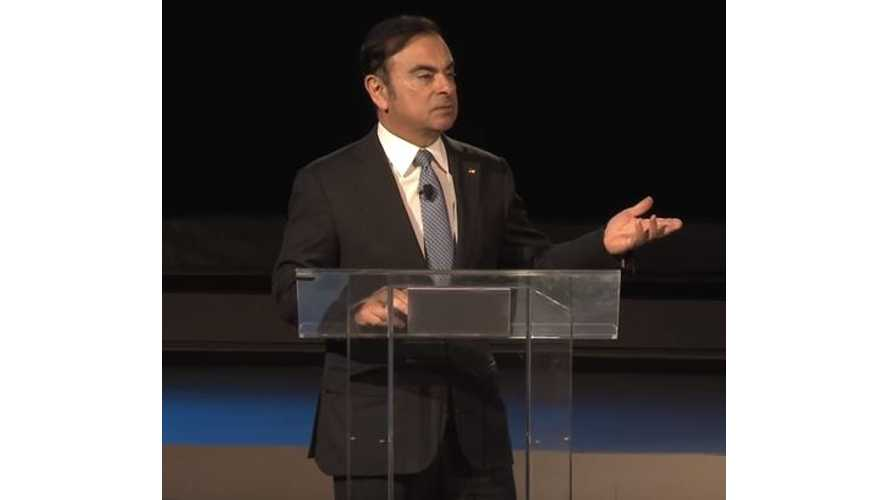 Nissan CEO Carlos Ghosn Discusses Disruption In Automotive Industy - Keynote Video