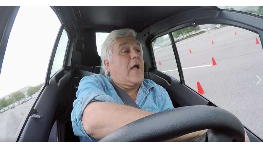 Jay Leno Drives Toyota i-Road - Video