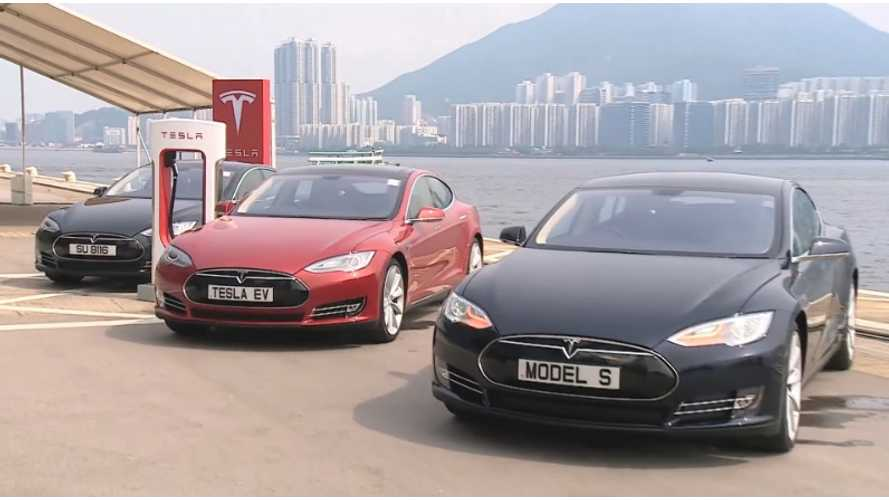 Tesla Model S First Impressions From Hong Kong - Video