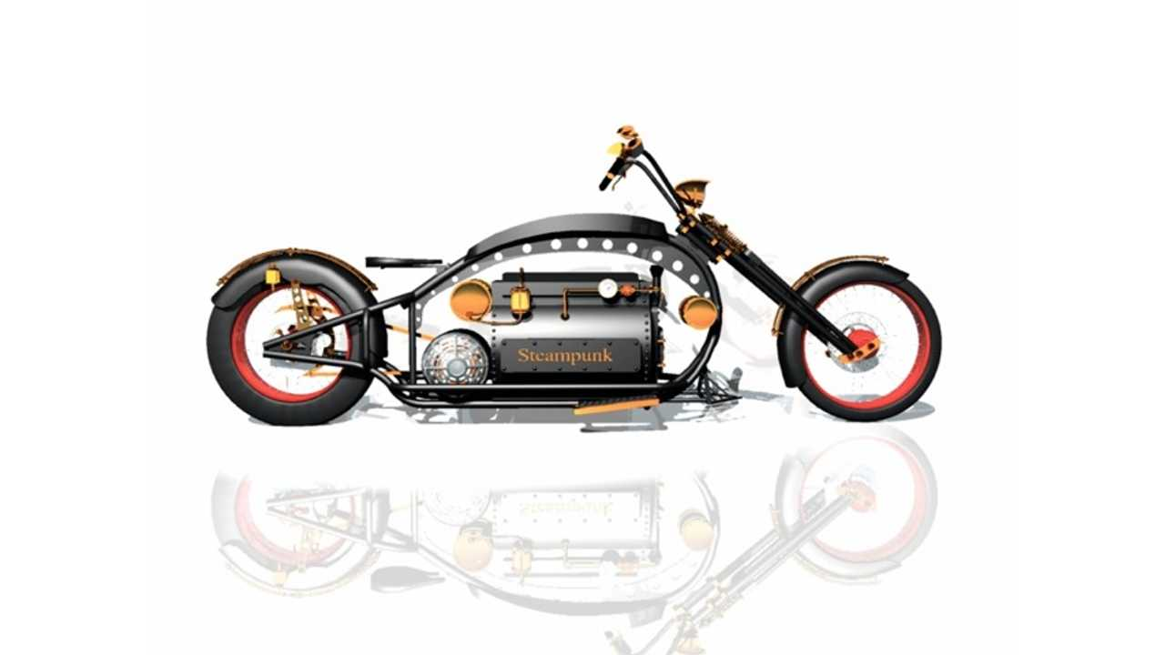 The Steampunk (Electric) Motorcycle (w/video)