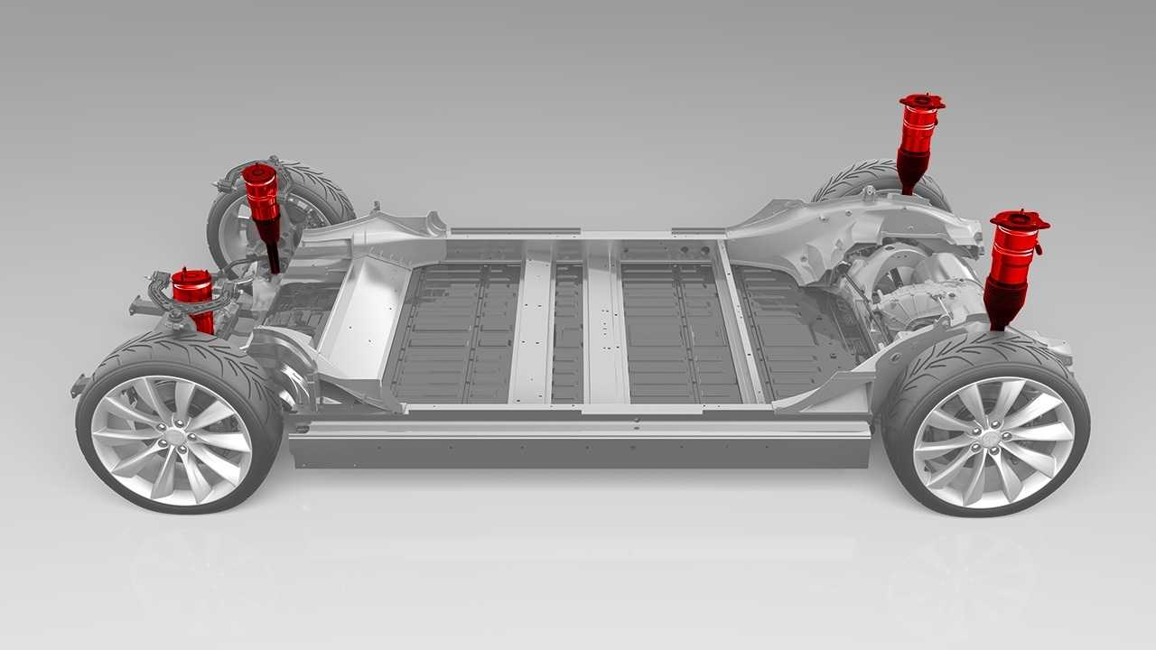Tesla Model S Frame & Air Suspension
