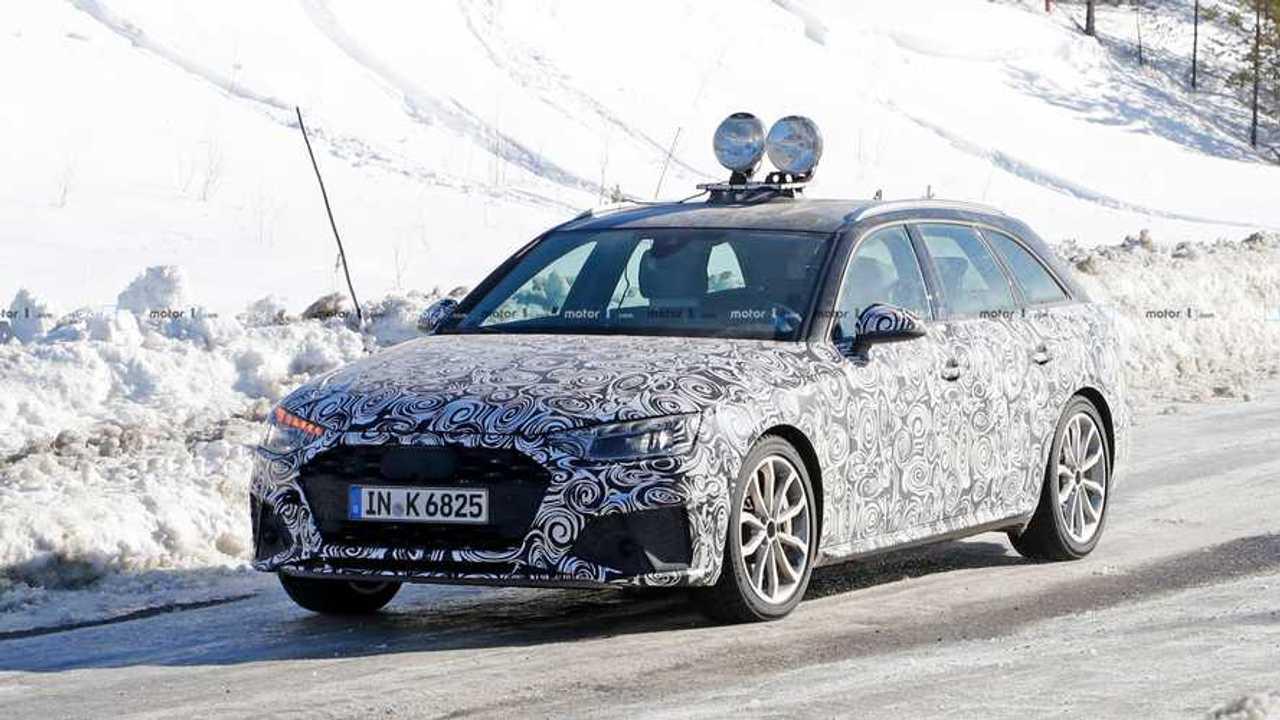 Audi S4 Avant Spy Photos