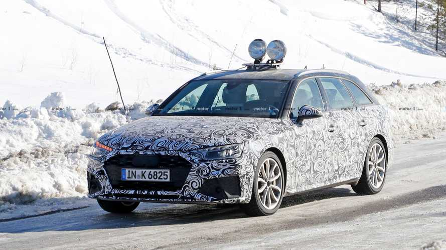 Spy shots: Facelifted Audi S4 Avant