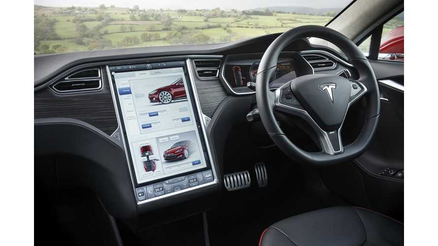 Tesla Model S Test Driven In Australia - Video