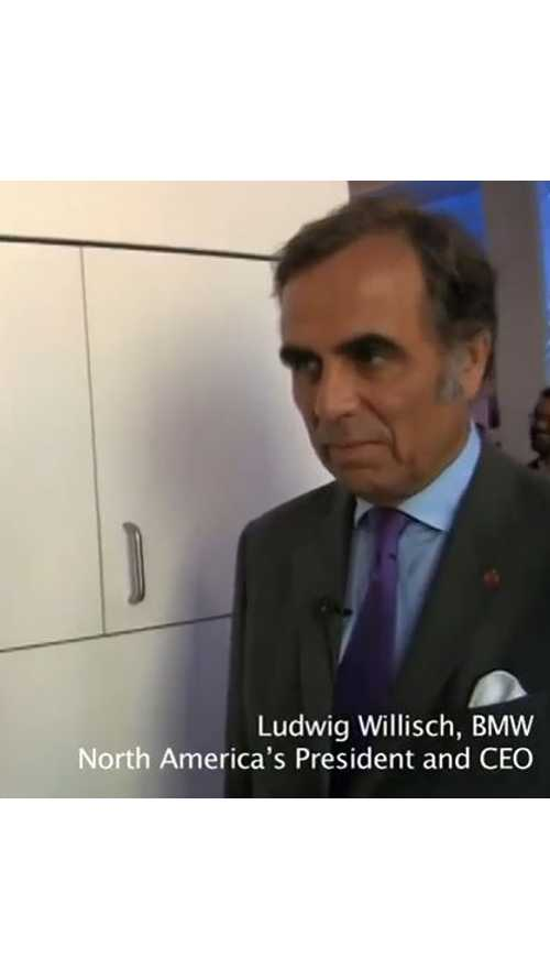 BMW CEO Discusses i3 On