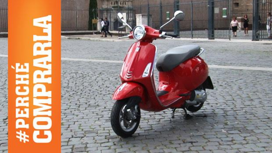 Vespa Primavera 125 3V 2014: perché comprarla… e perché no [VIDEO]