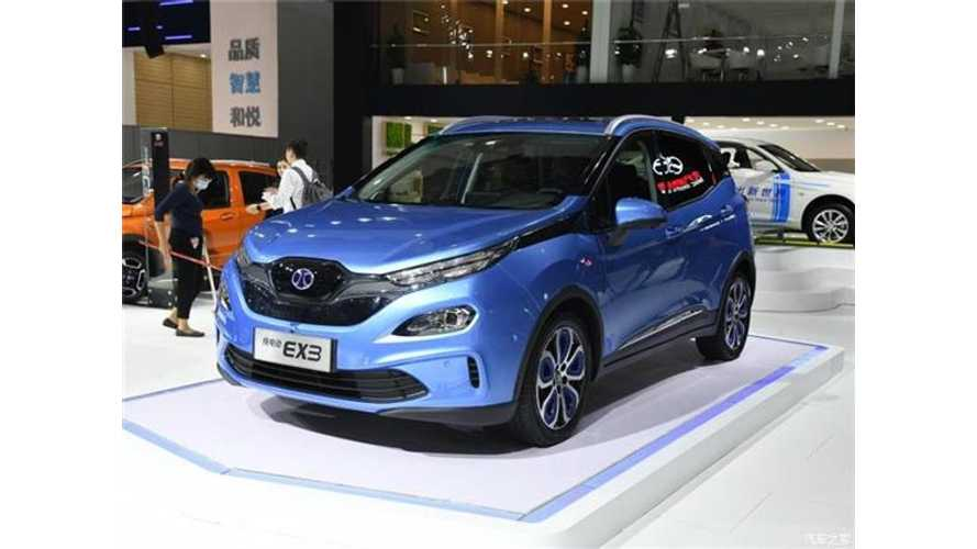 BAIC Aims To Sell 220,000 Electric Cars In China Next Year