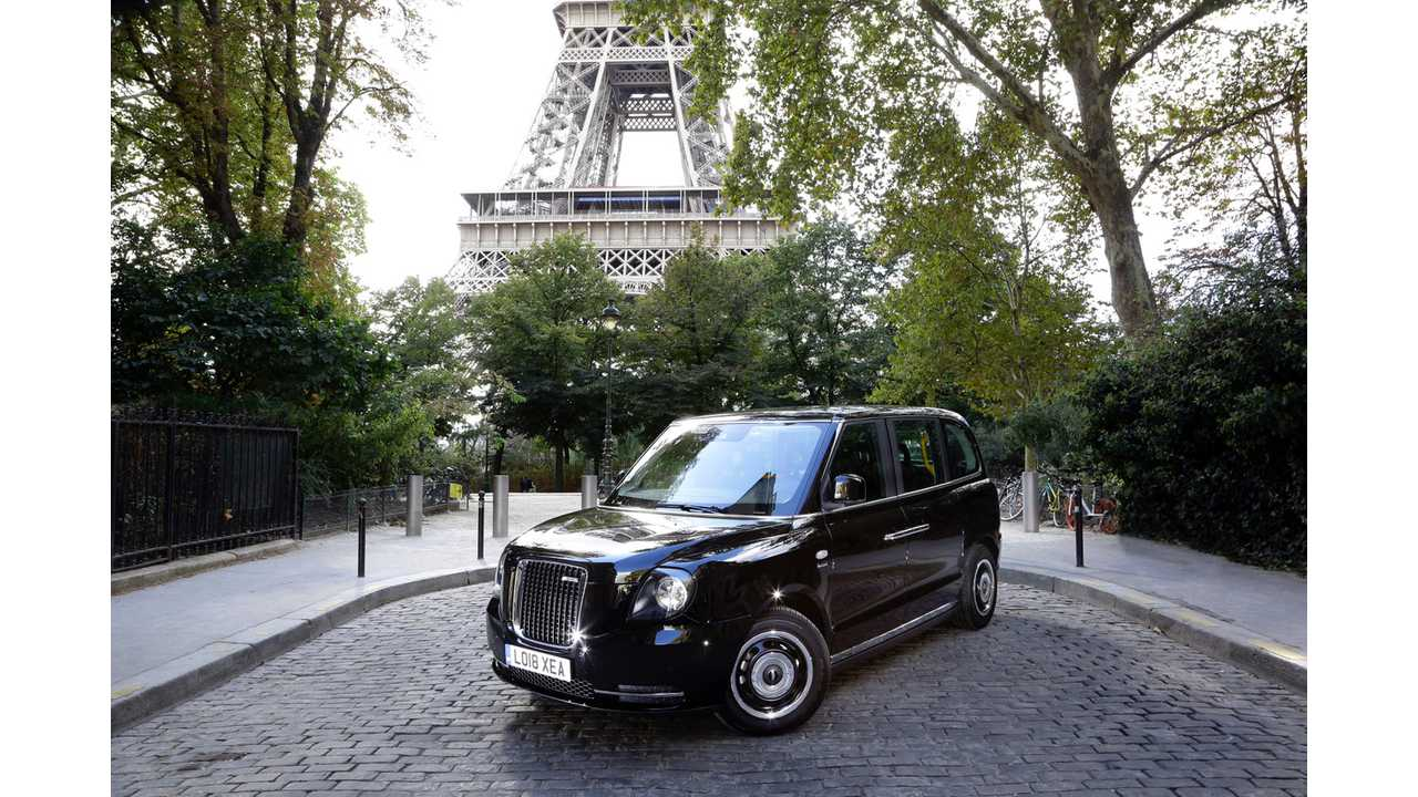LEVC To Introduce TX Taxis In Paris In Early 2019