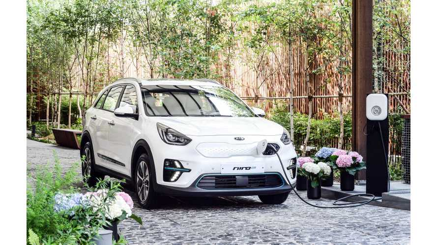 Kia Niro EV Gets Range Rating Of Over 300 Miles