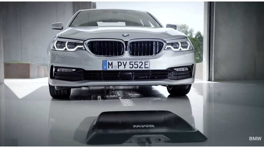 Wireless Charging Comes To The 2018 BMW 530e - Video