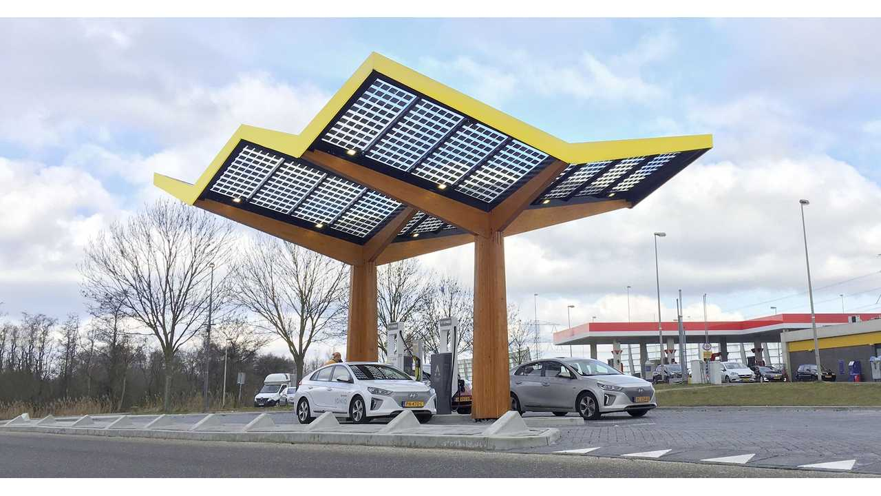 Fastned Installs First 350 kW Fast Chargers, 175 kW Units Too