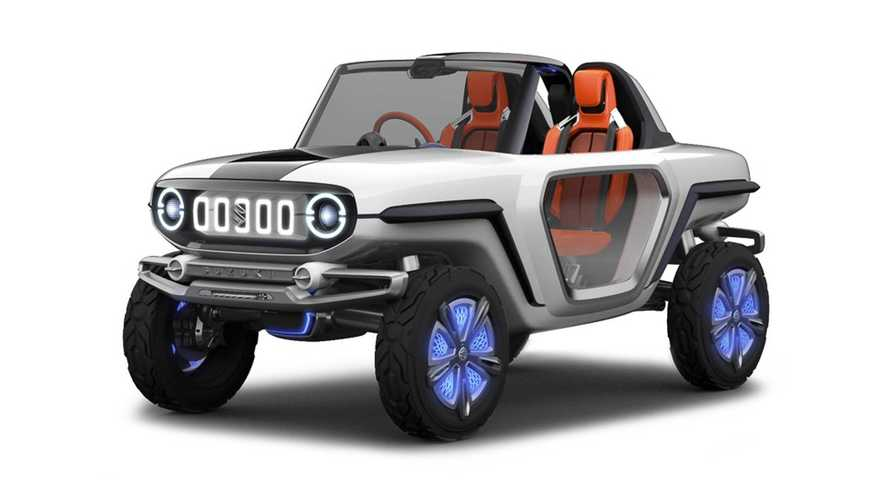 Suzuki e-Survivor Concepts Imagines Automaker's Electric Future