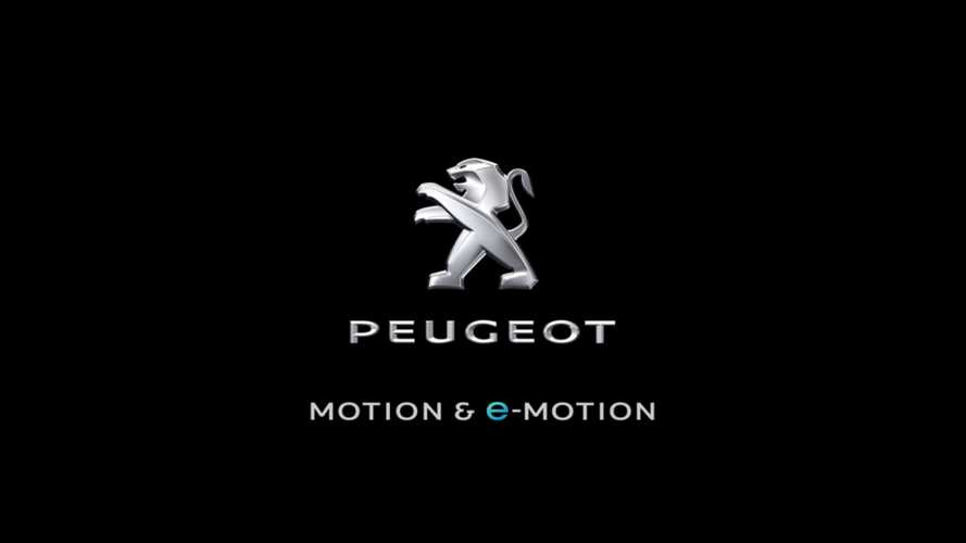 Peugeot Presents New 'e-MOTION' Electric Brand Signature