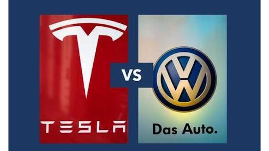 VW's Herbert Diess Says Tesla Is Doing A Good Job & Has An Edge