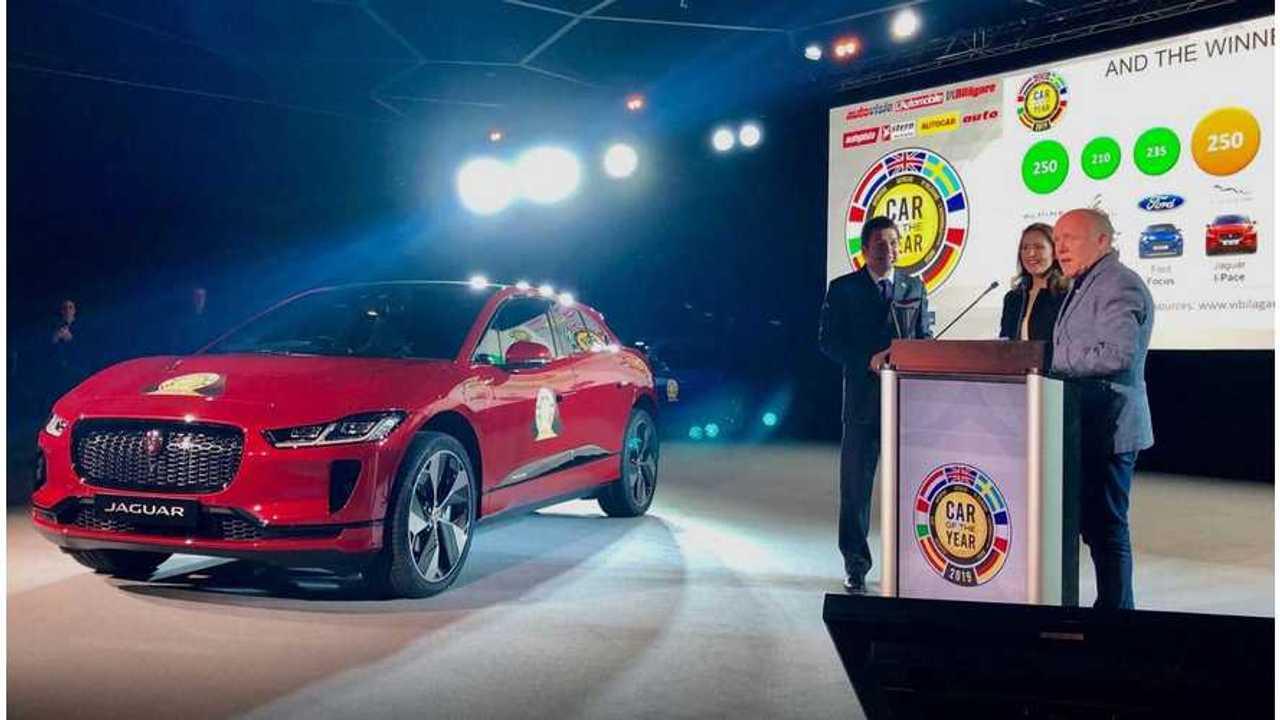 Jaguar I-Pace Wins European Car Of The Year
