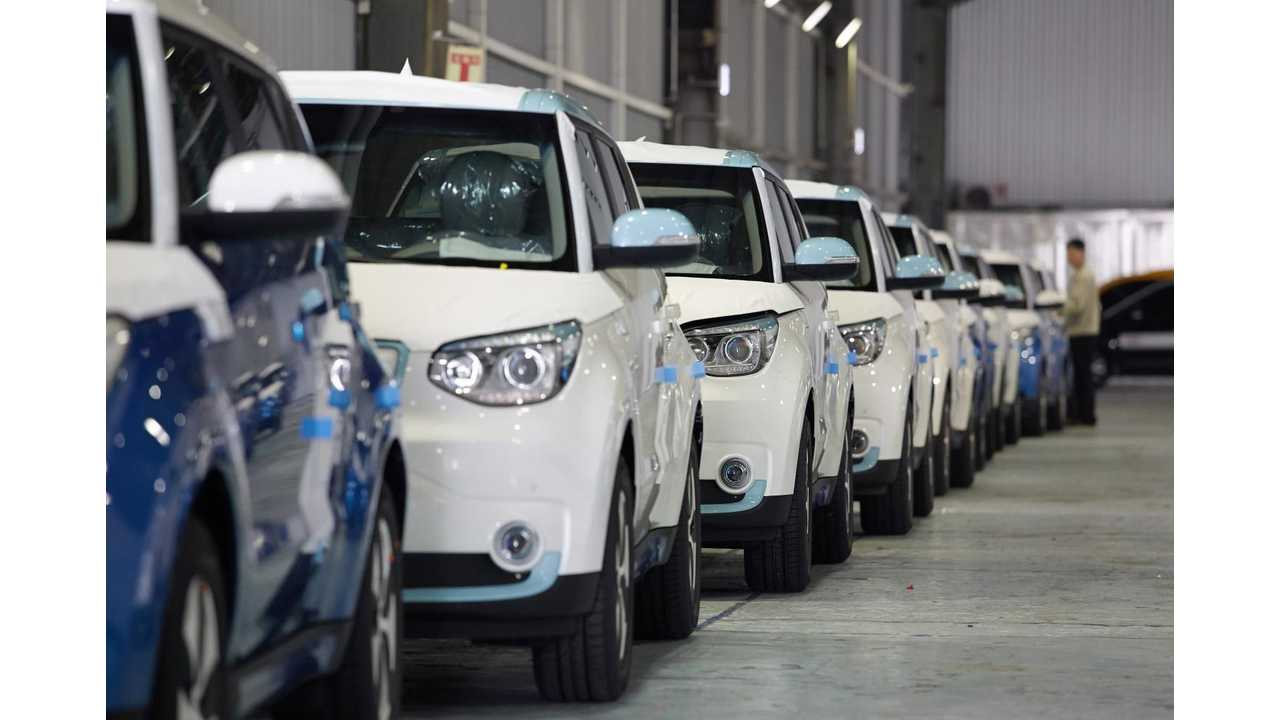 More Than 1 In 3 EVs Sold In Korea In 2014 Were The Kia Soul EV