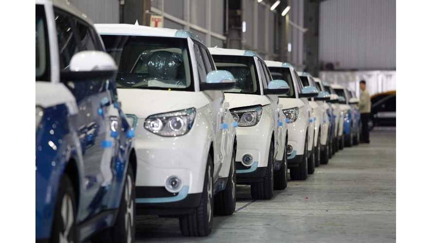 More Than 1 In 3 EVs Sold In Korea In 2014 Were The Kia Soul EV