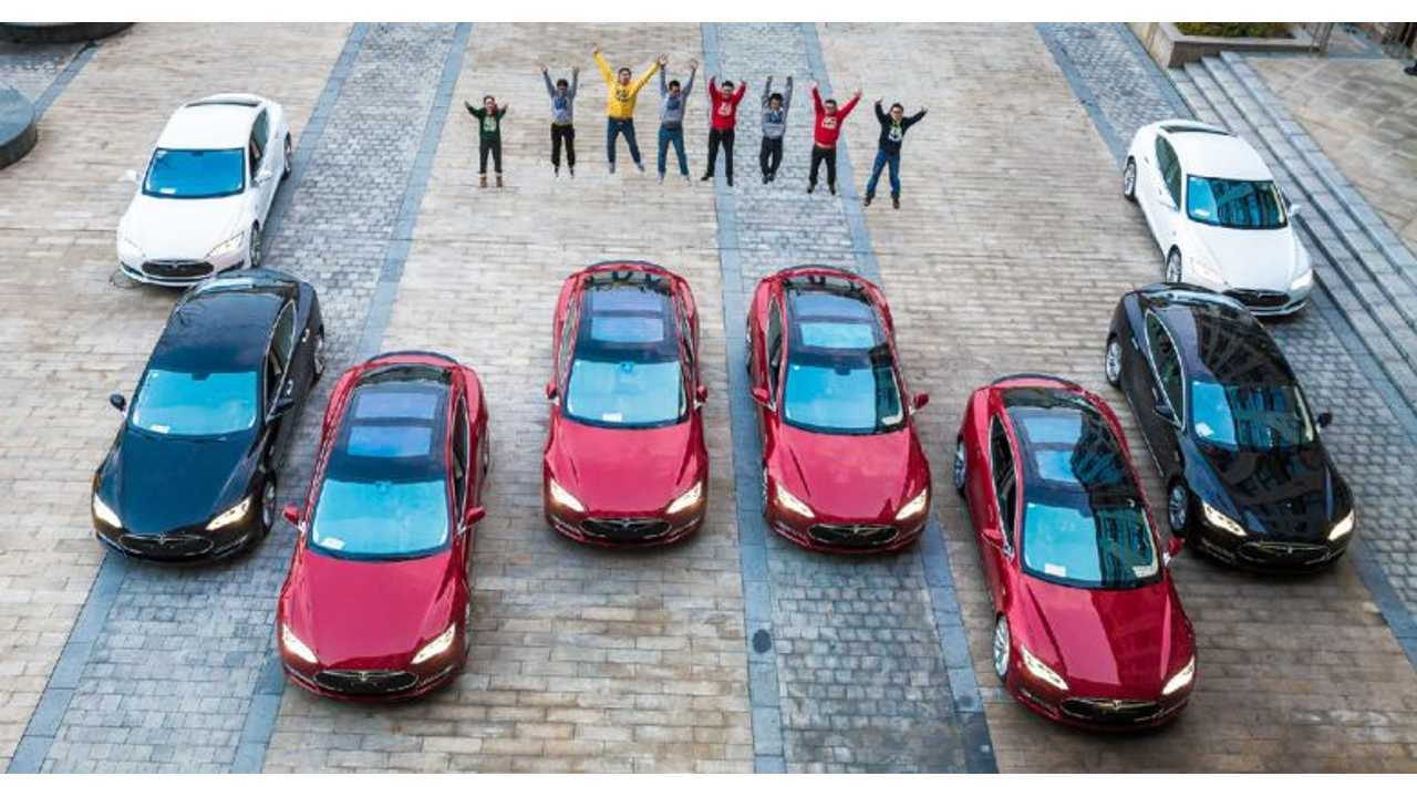 It's Year-End Bonus Time - Get A Tesla Model S If You Work For This Chinese Startup