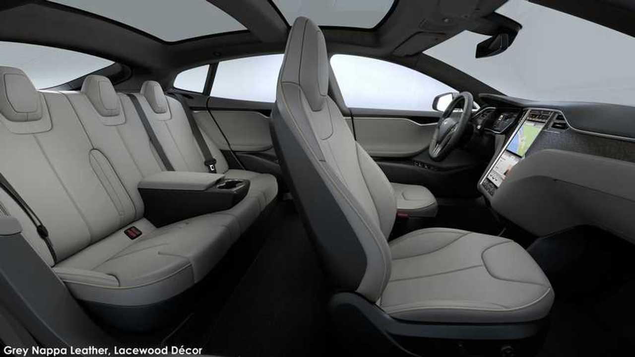 Tesla Model S - Premium Rear Console 2