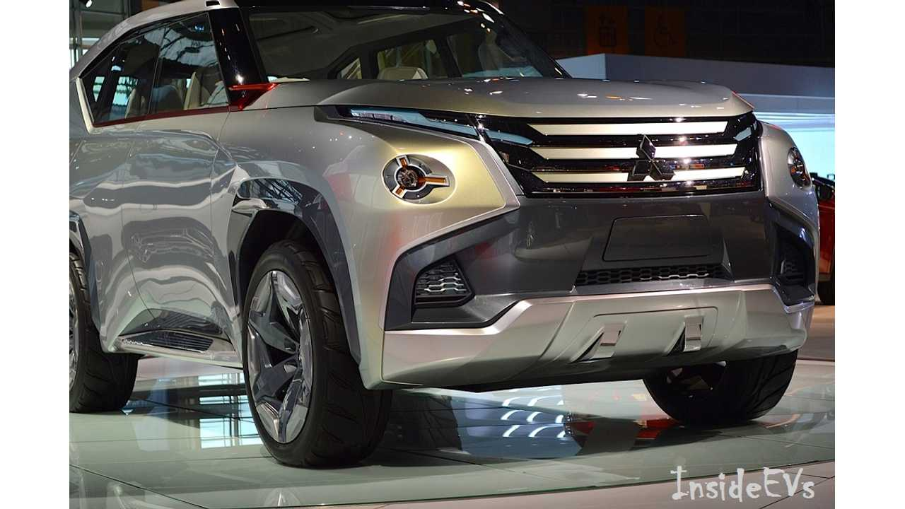 Live From Chicago: Concept GC-PHEV Hints At Upcoming Full Size EV SUV From Mitsubishi