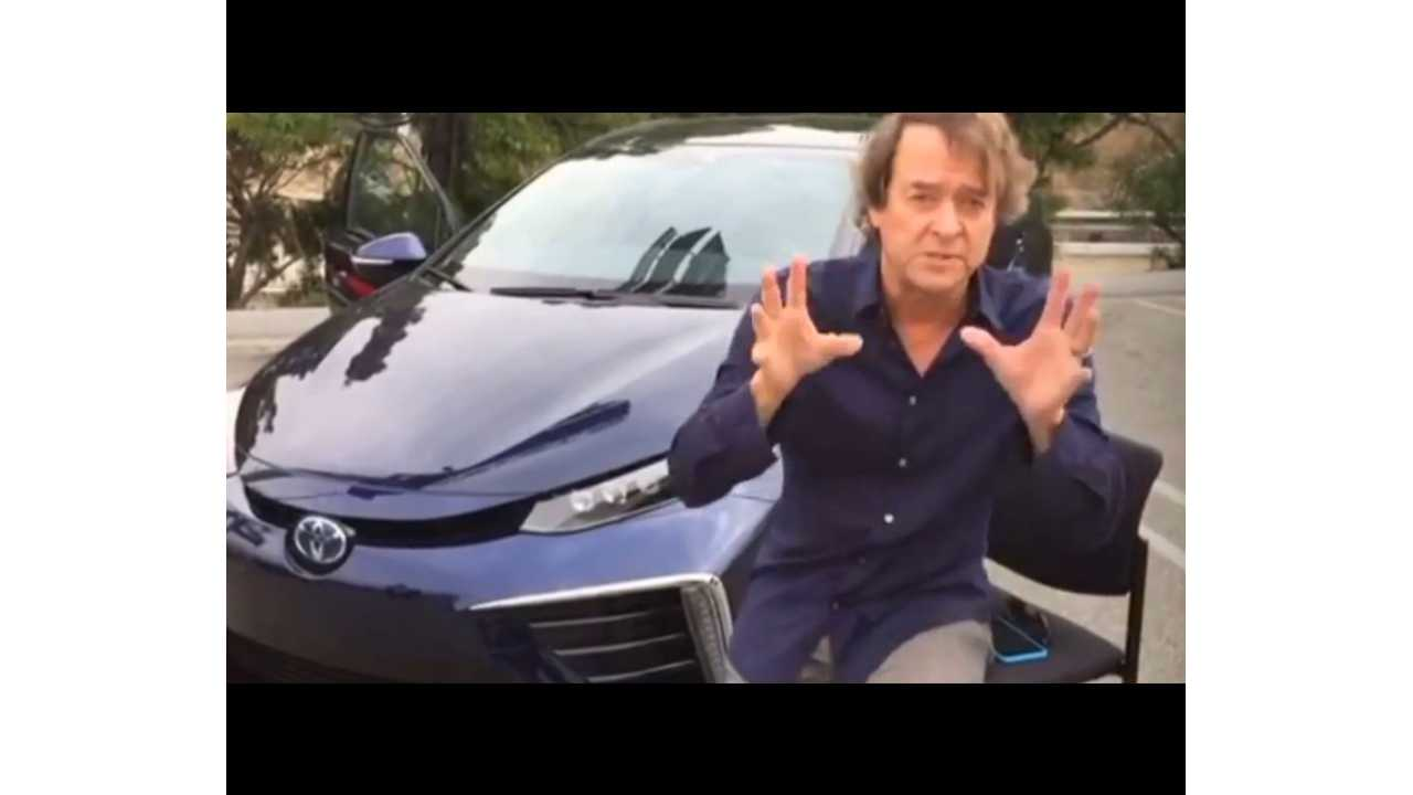 2016 Toyota Mirai Review With The LAcarGuy, First US Drives Coming In July - Video