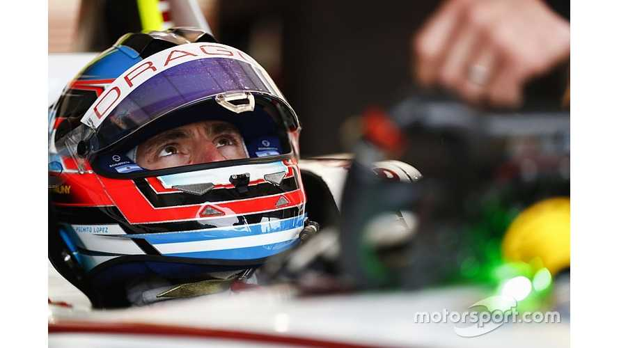 Lopez Stays With Dragon Formula E Team For 2018/19