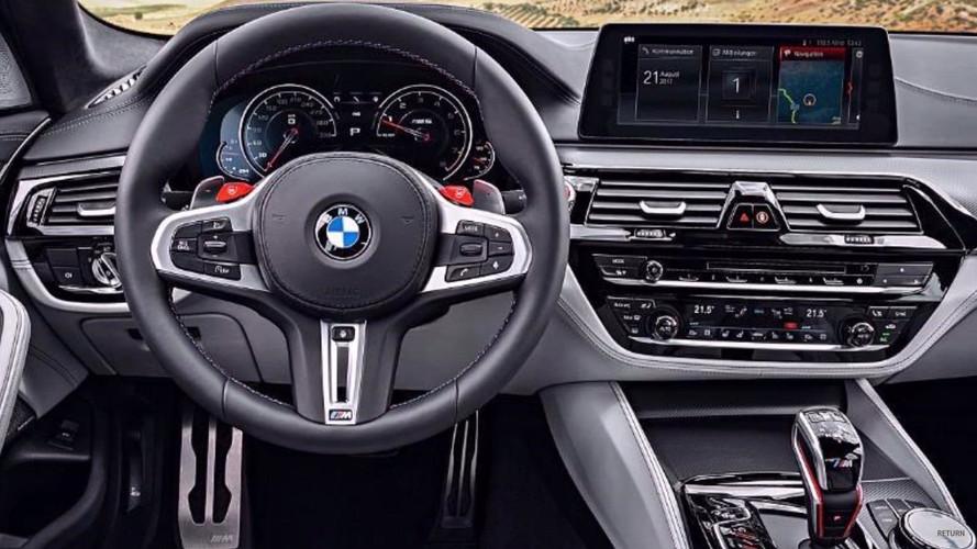 2018 BMW M5 sızdırılan fotoğraflar
