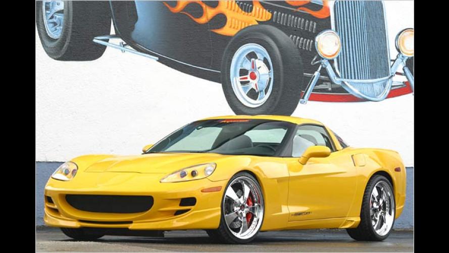 Geiger-Doping für die Corvette: Tieferlegung für das hohe C