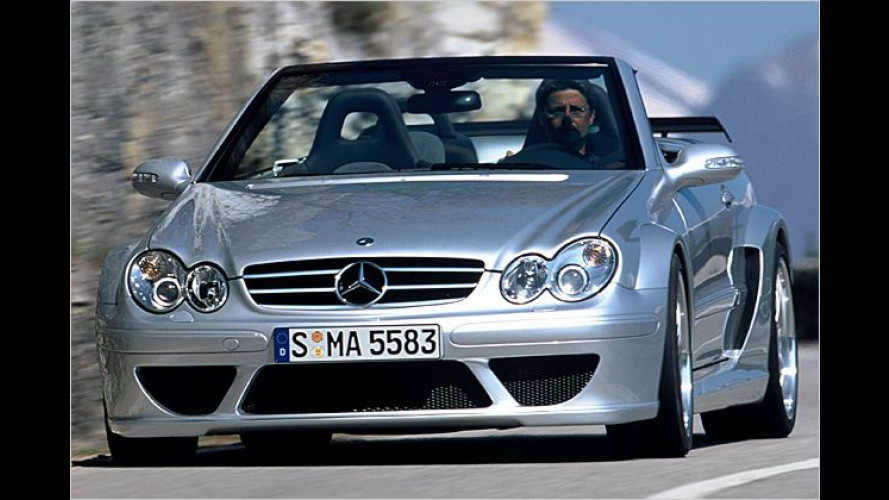 CLK DTM AMG: Renn-Cabriolet für den privaten Häkkinen