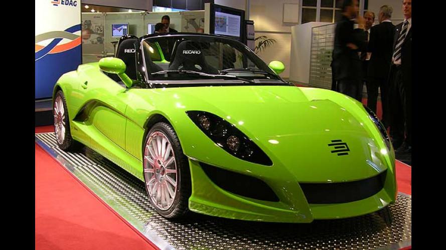 Edag No. 8: Mögliches Re-Design für den Smart Roadster