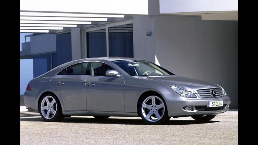 Mercedes CLS-Klasse: Viertürer kommt im Herbst 2004
