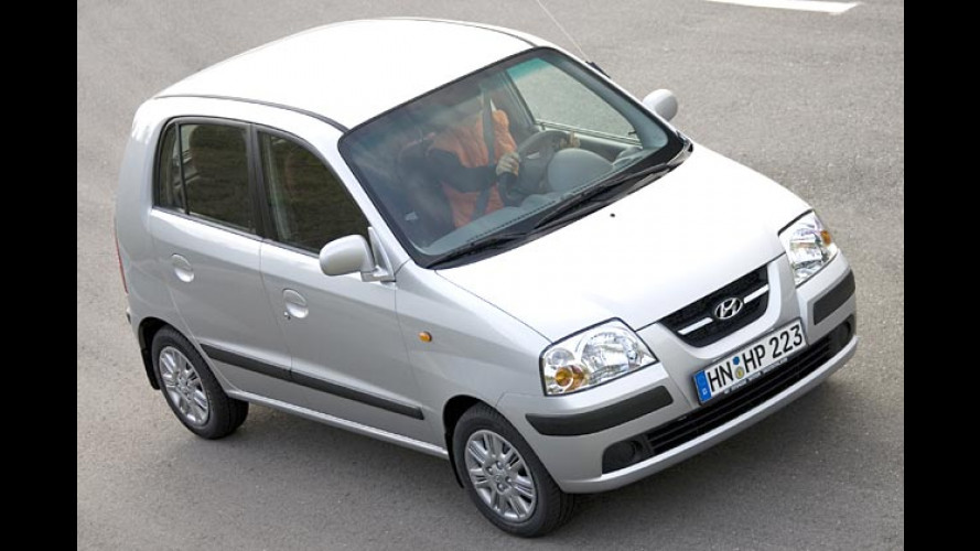 Premiere auf der IAA: Hyundai Atos für 2006 leicht geliftet