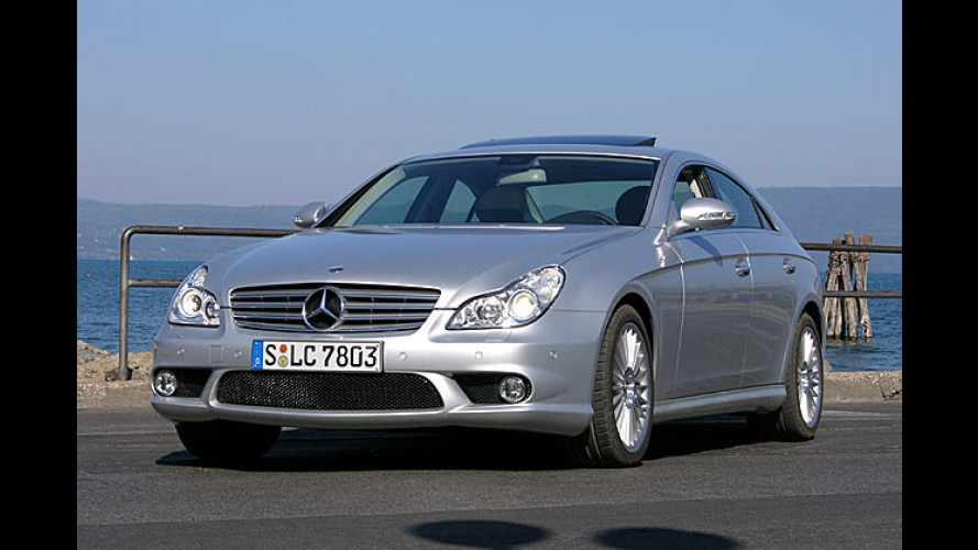 E-Motion: Mercedes-Benz CLS 500 im Test