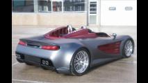 Heißer Design-Roadster