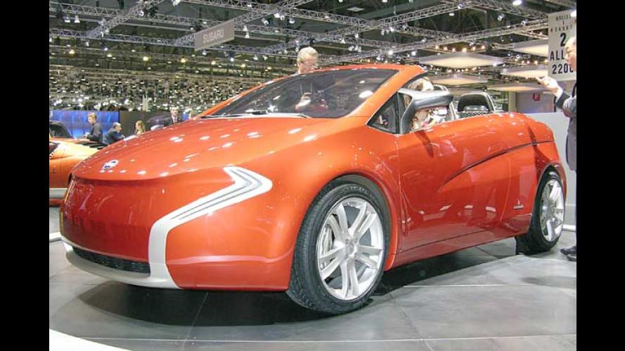 Die skurrilsten Autos auf dem Genfer Auto-Salon 2006