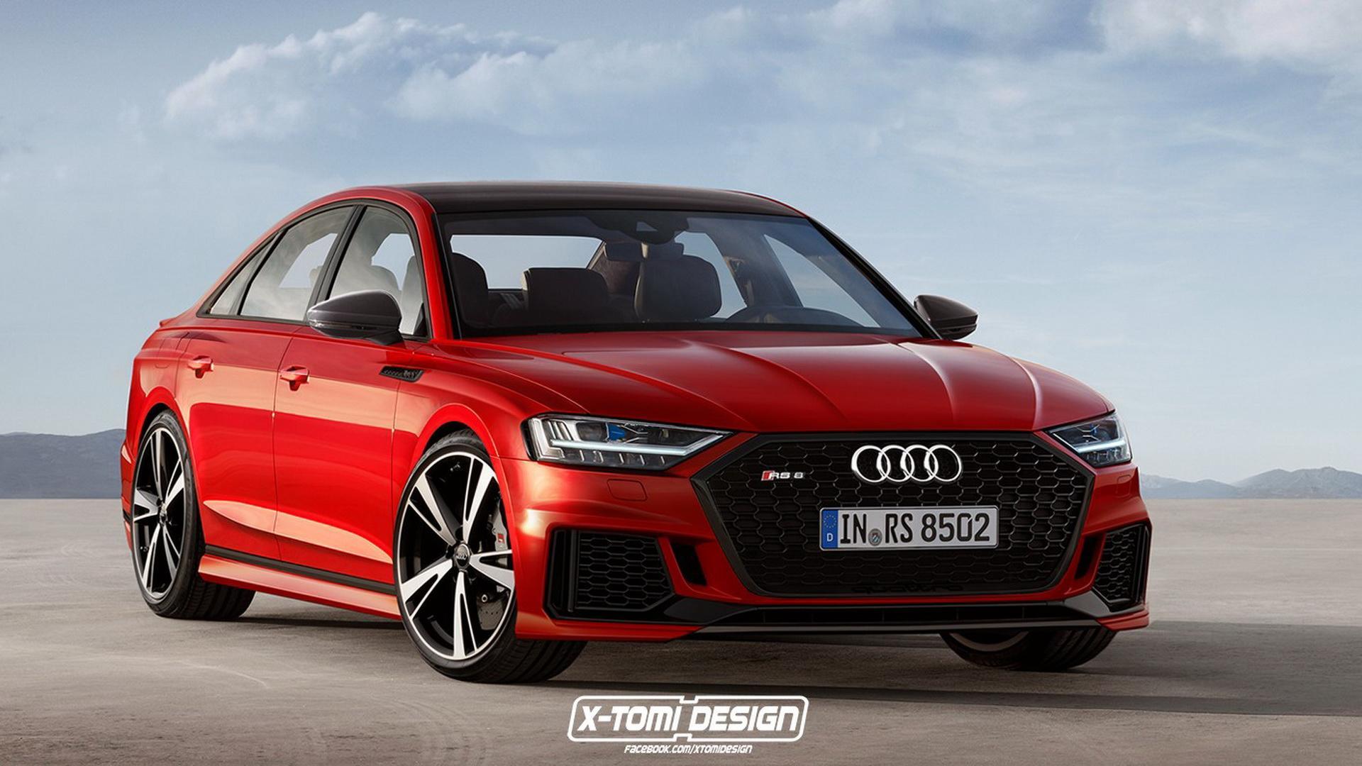 2018 Audi A8 Render Galore Coupe Avant S8 Rs8